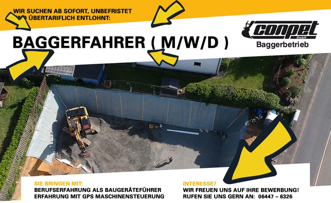 Baggerfahrer Hessen Stelle Job